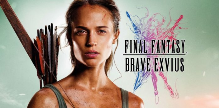 Lara Croft Hadir Ke Final Fantasy Brave Exvius Untuk Masa Terhad