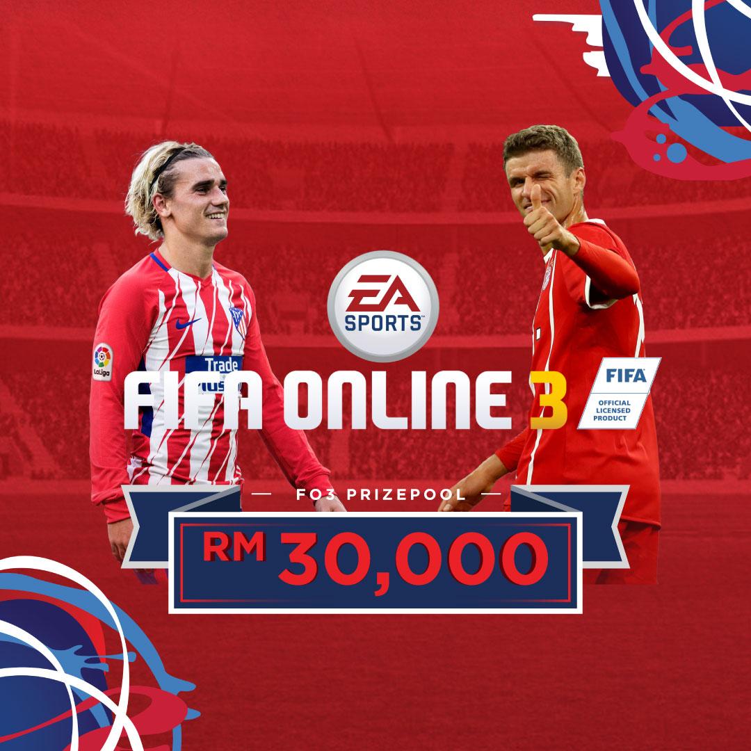 Kejohanan Moh Skor (FIFA Online 3), Menangi Hadiah Wang Tunai RM30,000!
