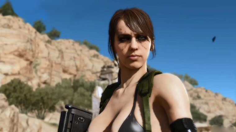 Video: Play As Quiet In MGS5