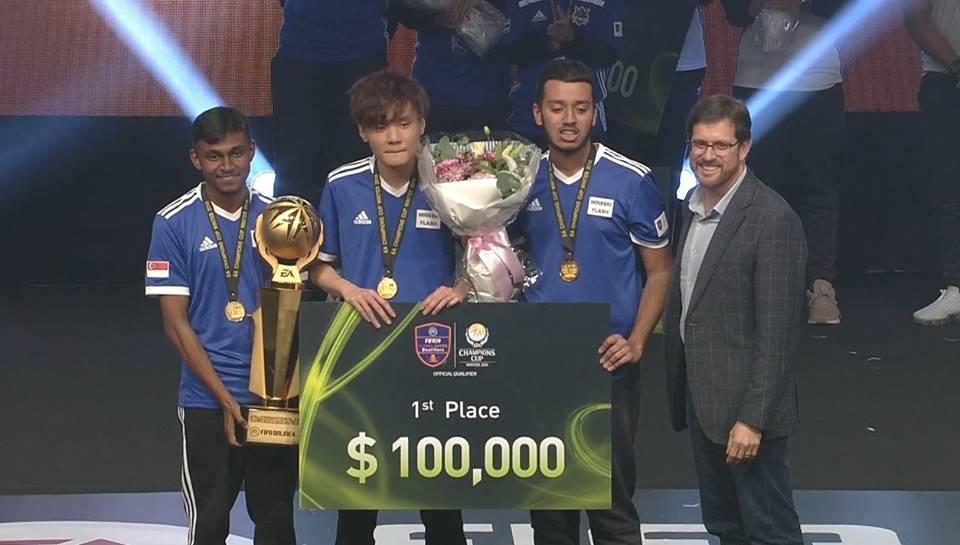 FIFA Online 4: Gan Mun Kiat Harum Nama Negara