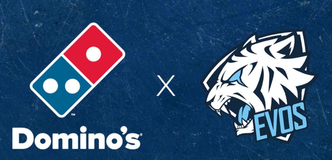 EVOS Esports Meneruskan Kolaborasi Bersama Domino's