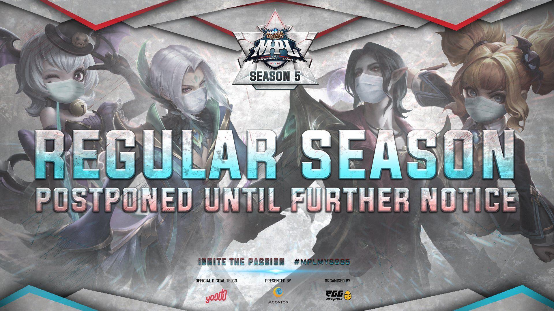 Mobile Legends: Musim Liga MPL Ditunda Berikutan Wabak COVID-19