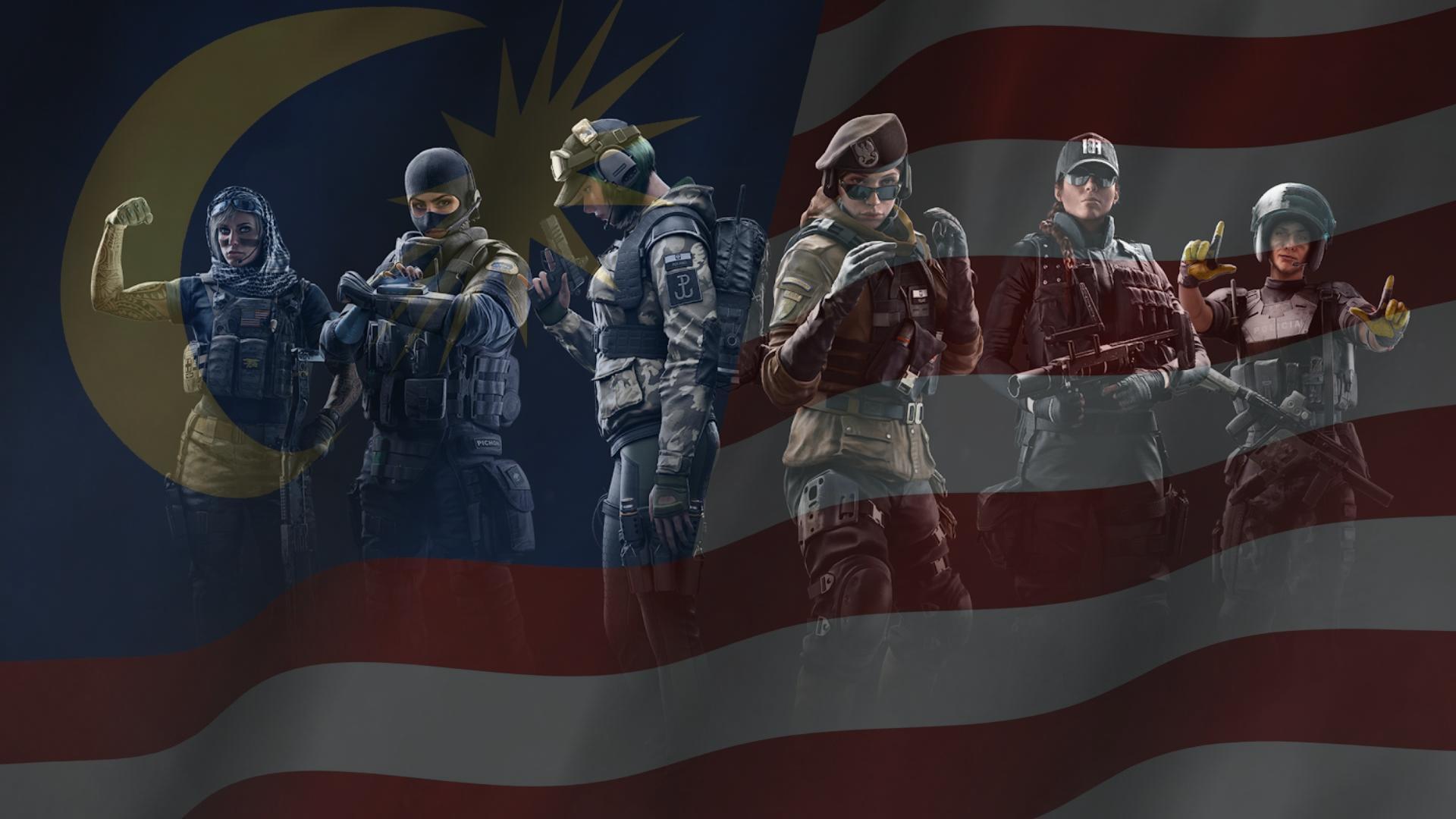 Pendaftaran Untuk Rainbow Six Operation League Malaysia Kini Dibuka
