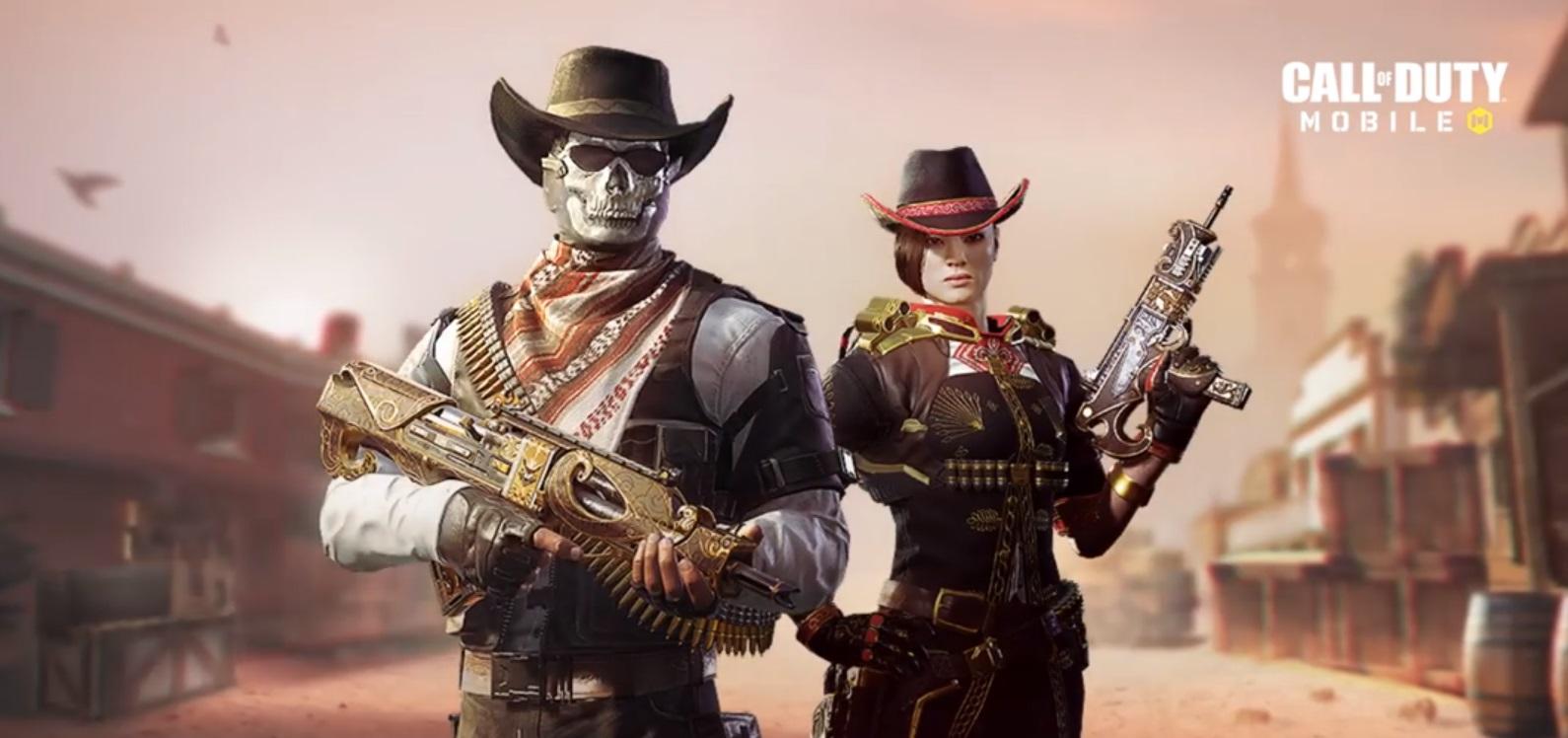 Call Of Duty: Mobile Musim 6 Terima Kemaskini Bertemakan Koboi