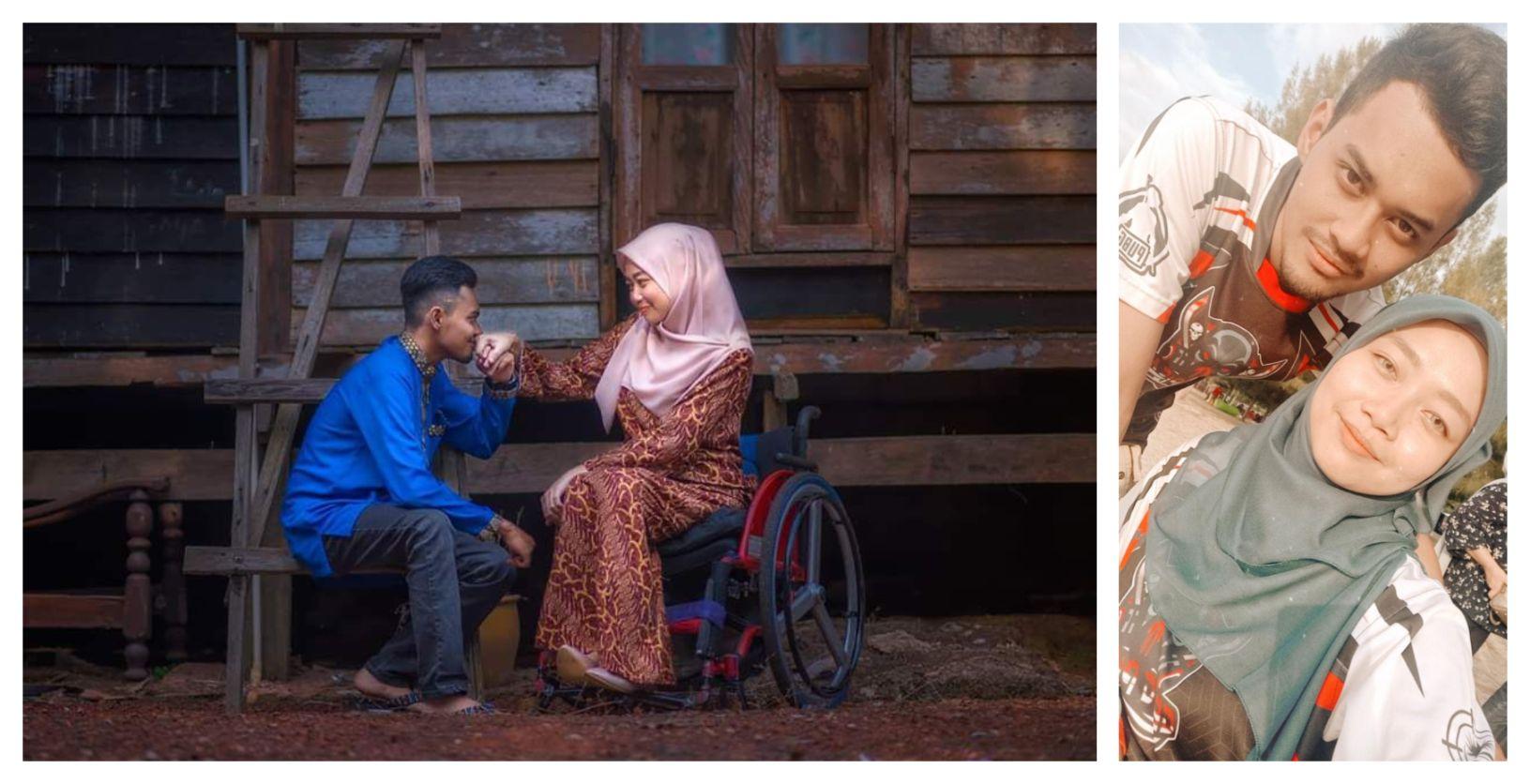 "COVID-19: ""Saya Redha, Akan Sayang Isteri Sampai Bila-Bila,"" – Amirul Syahmi"