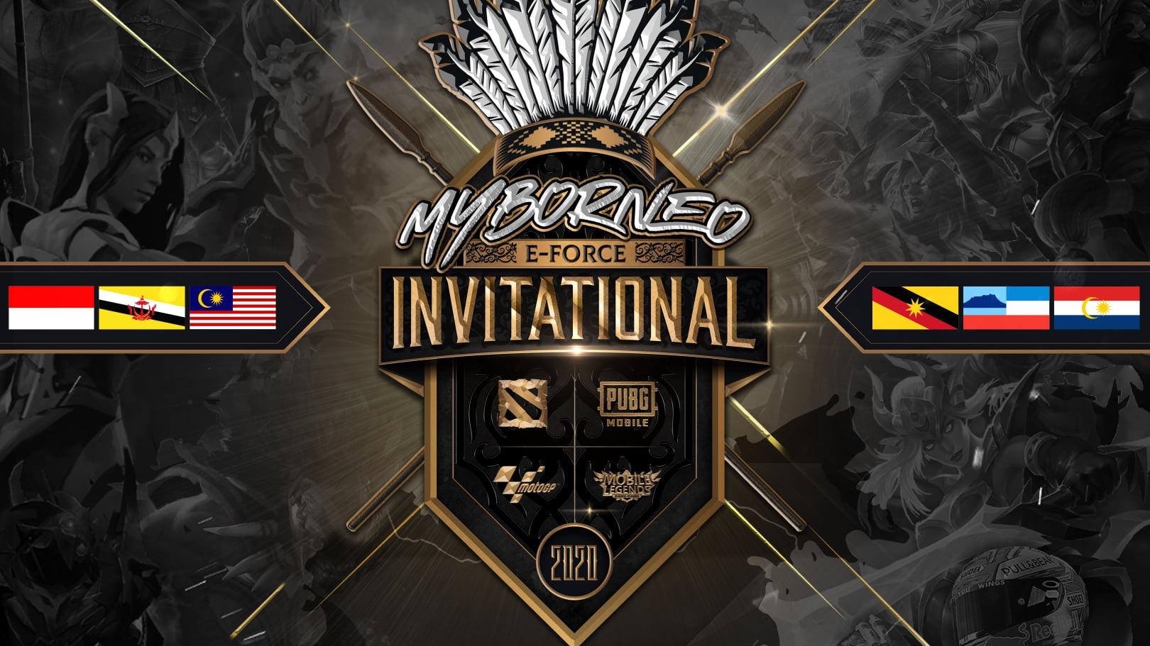 MyBorneo E-Force Invitational 2020 akan dianjurkan untuk peminat dan pemain e-sukan di kepulauan Borneo