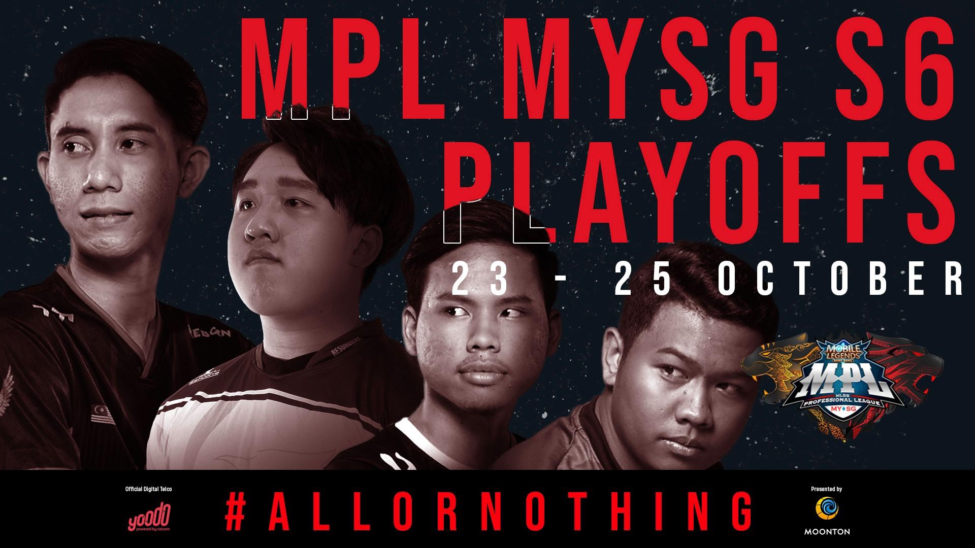 MPL: Ini adalah jadual penuh perlawanan playoffs