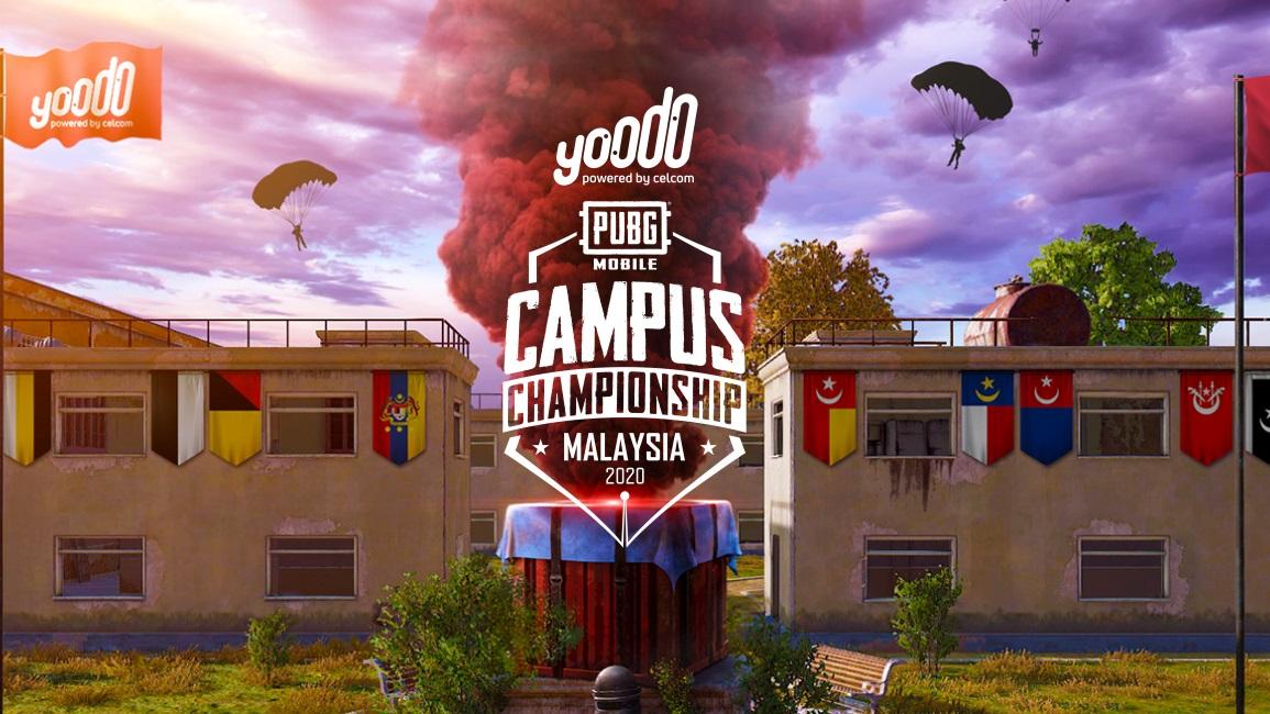 Kejohanan Kampus PUBG Mobile 2020 akan bermula pada 31 Oktober