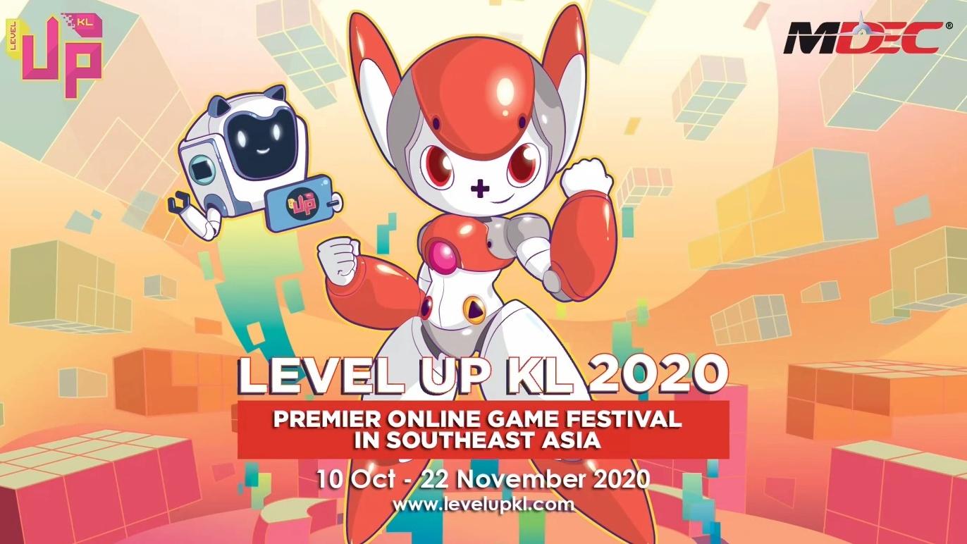 Level Up KL 2020 akan diadakan secara digital dari 10 Oktober hingga 22 November