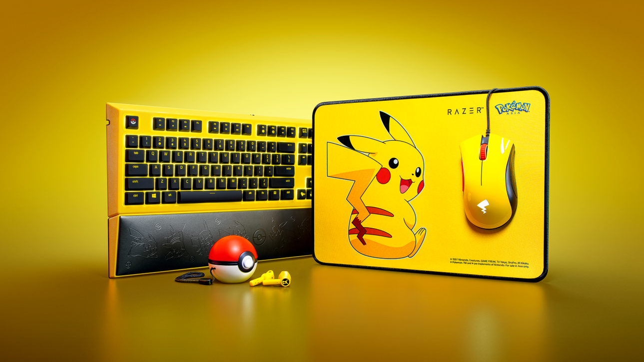 Persisian Razer | Pokémon, Pikachu Limited Edition tiba di Malaysia
