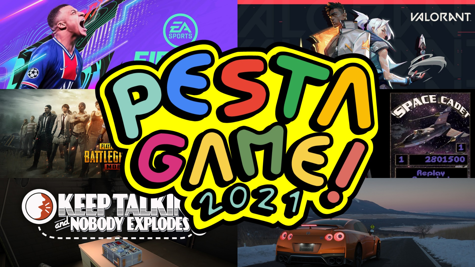 Pesta Game 2021 – Jom main game bersama Youtuber terkenal!