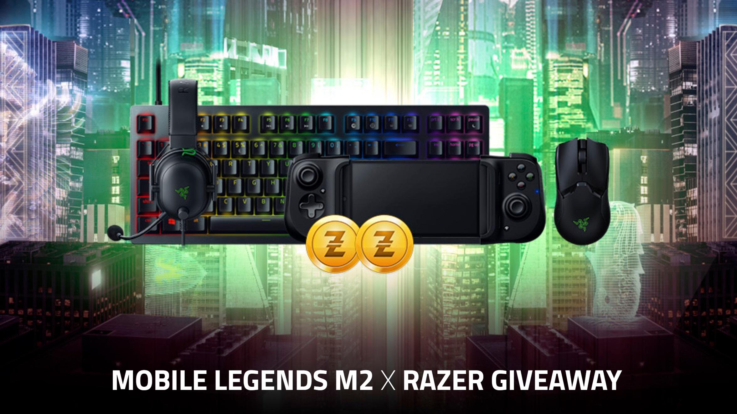 Razer kini Rakan Peralatan Gaming Moonton untuk kejohanan M2