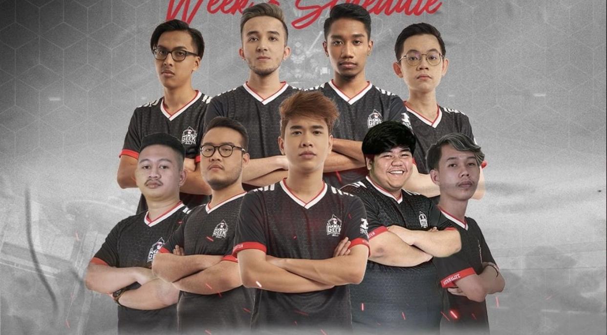 Geek Fam MY guna pemain senior lawan Suhaz EVOS, 2-1