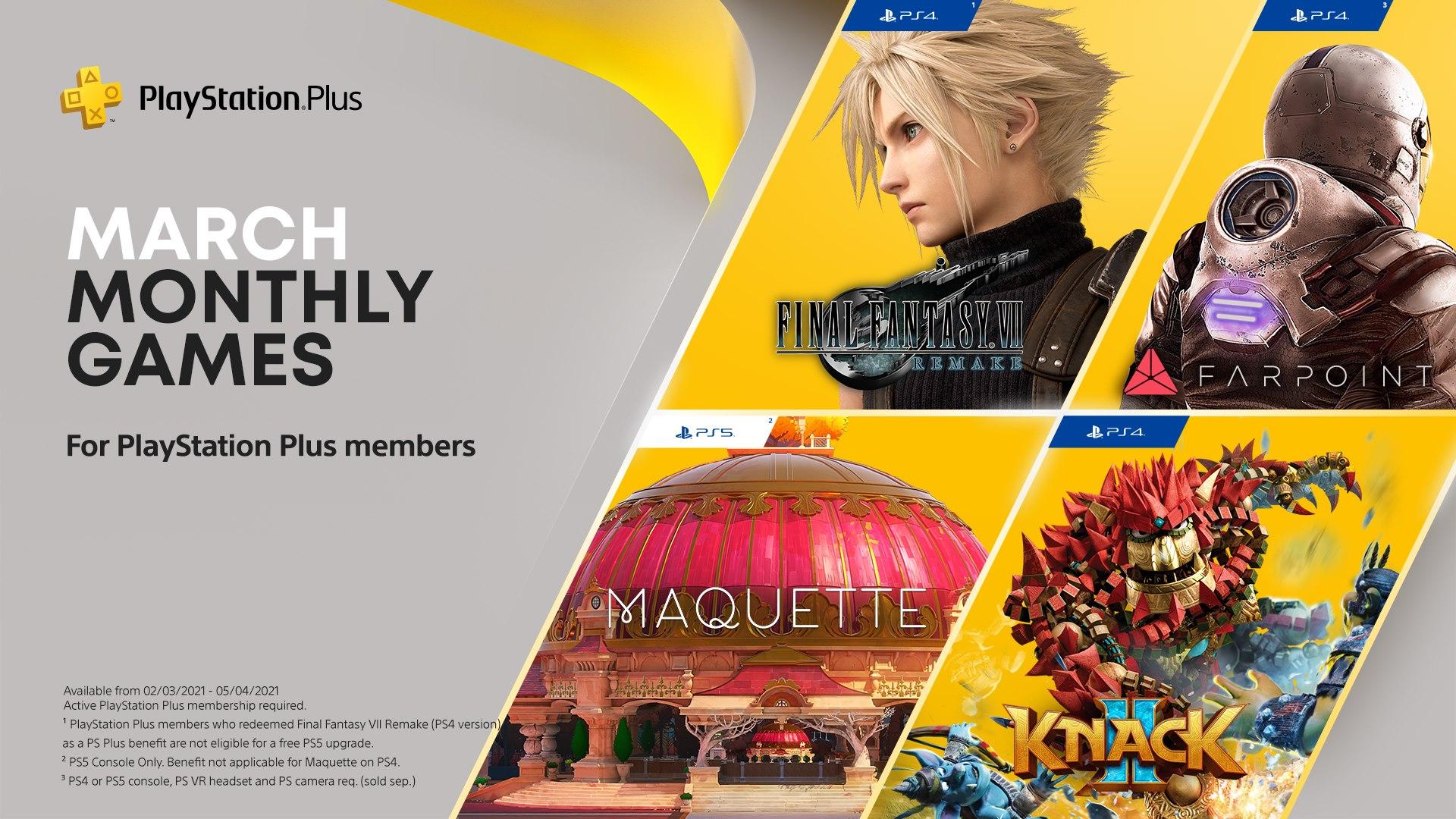 Final Fantasy VII Remake salah satu permainan percuma PS Plus Mac 2021