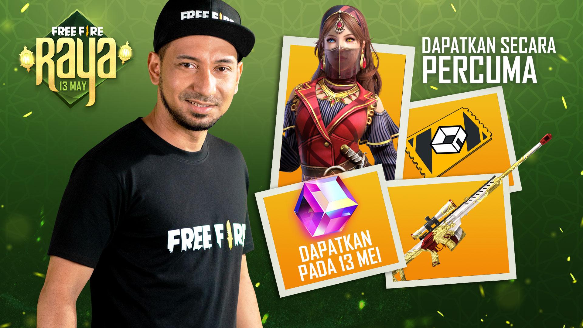 Zizan Razak jadi duta Free Fire Malaysia