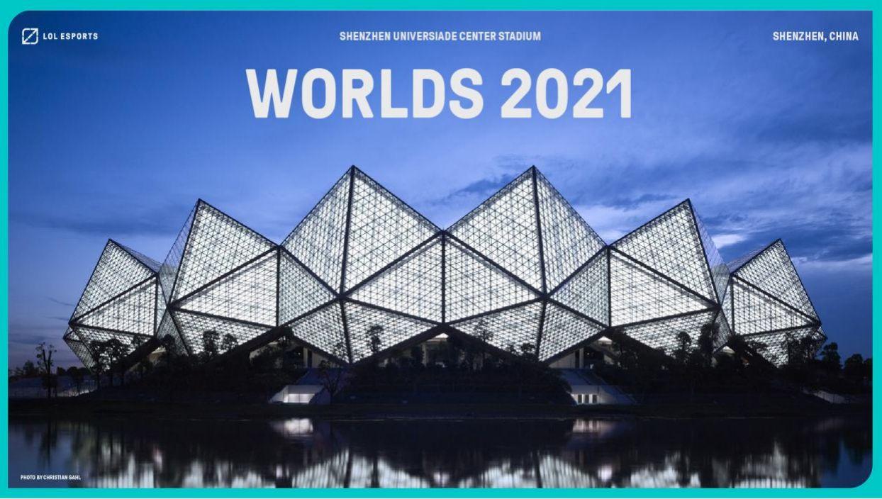 Kejohanan dunia League of Legends, Worlds 2021 akan diadakan di China